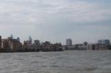 We laten het centrum van Londen achter ons.