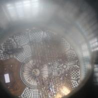 We staan uiteindelijk welgeteld 85 meter letterlijk boven The Cathedral Floor.