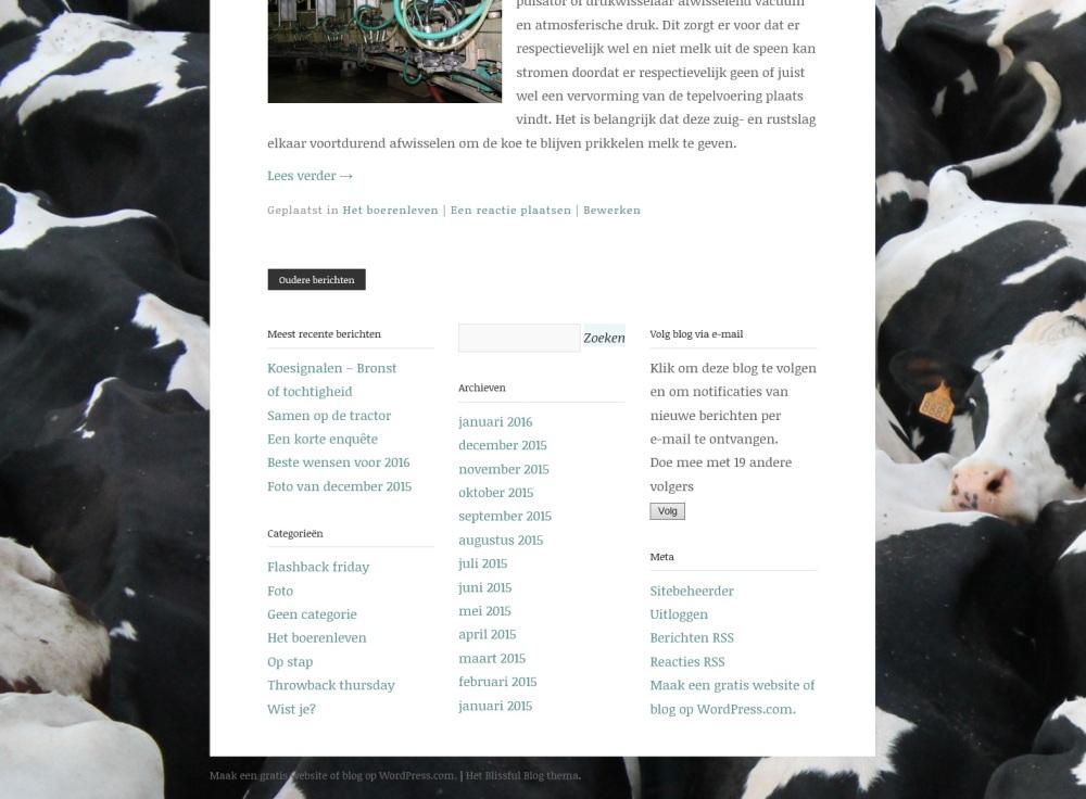 Onderaan blog